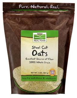 NOW Foods Steel Cut Oats, 2 Pounds