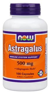 NOW Foods Astragalus 500 mg., 100 Capsules