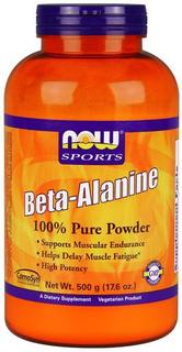 NOW Foods Beta-Alanine, 500 Grams