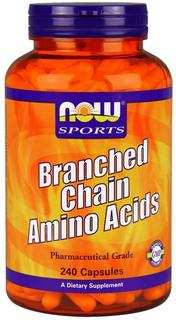 NOW Foods Branched Chain Amino Acids, 240 Capsules