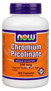 NOW Foods Chromium Picolinate 200 mcg., 250 Capsules