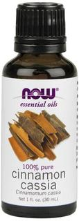 NOW Foods Cinnamon Cassia Essential Oil, 1 Fluid Ounce