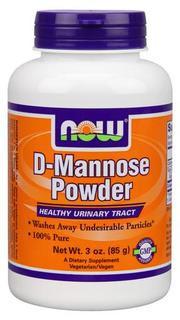 NOW Foods D-Mannose Powder, 3 Ounces