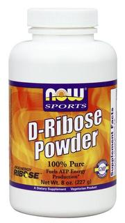 NOW Foods D-Ribose Pure Powder, 8 Ounces