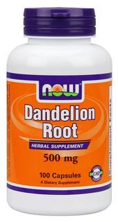 NOW Foods Dandelion Root 500 mg. per capsule, 100 Capsules