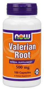 NOW Foods Valerian Root 500 mg, 100 Cases