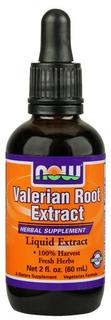 NOW Foods Valerian Root Extract, 2 Ounces