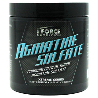 I Force AGMATINE SULFATE, 50 Servings