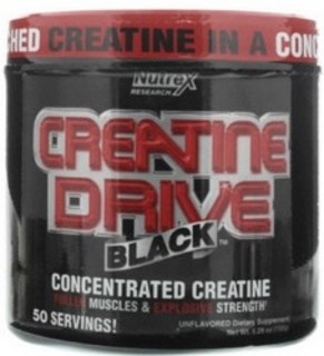 Nutrex Creatine Drive Black, 50 Servings