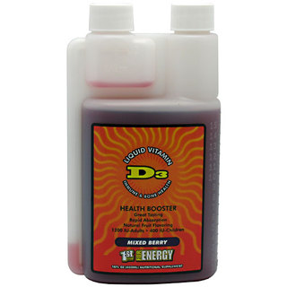 1st Step Pro-Wellness Liquid Vitamin D3, Mixed Berry Flavor