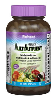 Bluebonnet Nutrition Super Earth® Multinutrient Formula, 90 Caplets