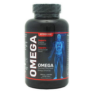 Myogenix Omega, 120 Softgels