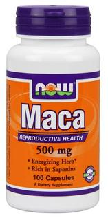 NOW Foods Maca, 100 Capsules