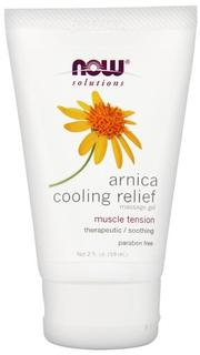 NOW Foods Arnica Cooling Relief Gel, 2 Ounces