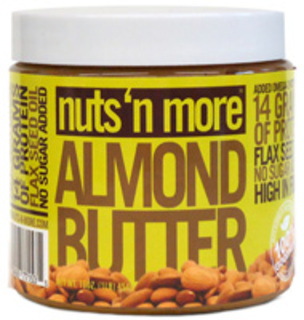 Nuts N' More Almond Butter, 1 Pound