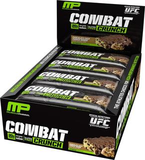 MusclePharm Combat Crunch Bar, 12 Bars