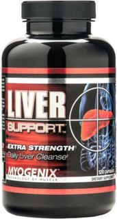 Myogenix Liver Support, 120 Capsules