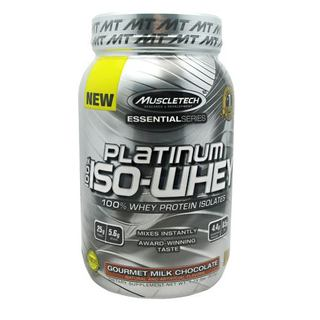 Muscletech 100% Platinum Iso-Whey by Muscletech, 26 Servings