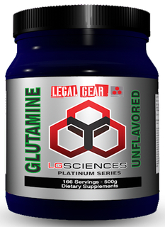 LG Sciences L-Glutamine, 500 Grams