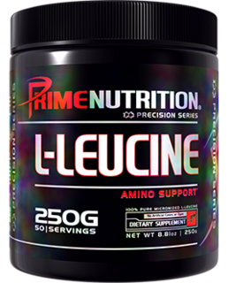 Prime Nutrition L-LEUCINE, 50 Servings