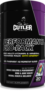 Jay Cutler Elite Series Performance Pro-Pack, 30 Packets