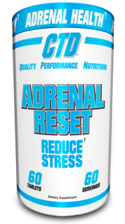 CTD Labs Adrenal Reset, 60 Tablets