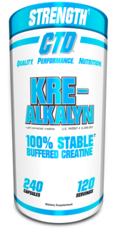 CTD Labs Kre-Alkalyn Creatine, 240 Capsules