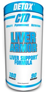 CTD Labs Liver Armor, 180 Capsules