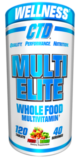 CTD Labs Multi-Elite Vitamin, 120 Tablets