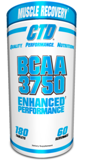 CTD Labs BCAA 3750+NCG, 180 Tablets