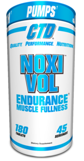 CTD Labs Noxivol Strength Enhancing Vasodilator, 180 Tablets