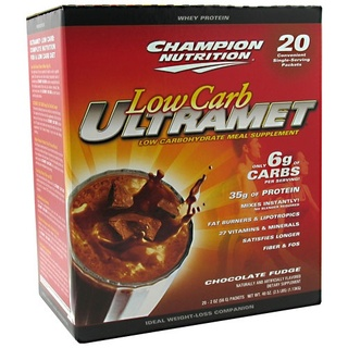 Champion Nutrition Low Carb UltraMet, 20 Packets