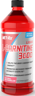 MET-RX Liquid L-Carnitine 3000, 16 Fluid Ounces