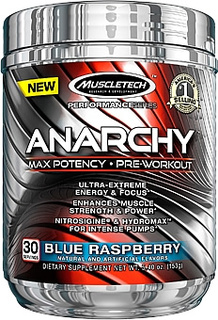 Muscletech Anarchy, 30 Servings