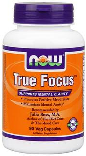 NOW Foods True Focus™, 90 Vegi Capsules