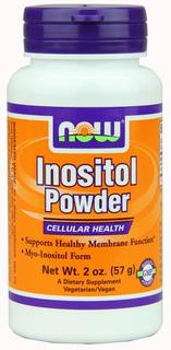 NOW Foods Inositol Powder Vegetarian, 2 Ounces