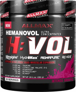 Allmax Nutrition H VOL, 30 Servings