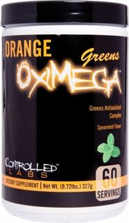 Controlled Labs Orange OxiMega Greens, 60 Servings