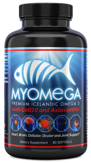 Myogenix MyoMega, 90 Softgels