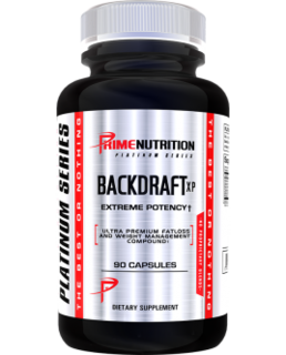 Prime Nutrition Backdraft XP, 90 Capsules