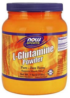 NOW Foods Glutamine Powder, 2.2 Pounds