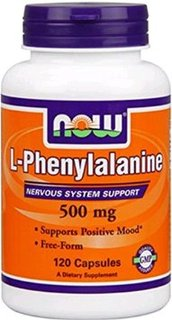 NOW Foods L-Phenylalanine 500 mg, 120 Capsules