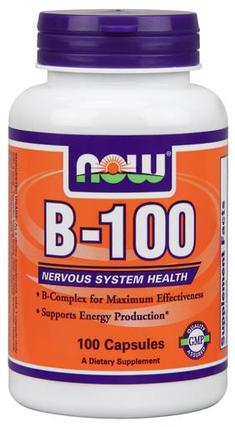 NOW Foods Vitamin B-100 by NOW Foods