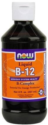 NOW Foods Vitamin B-12 Complex Liquid by NOW Foods