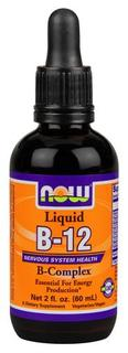 NOW Foods Vitamin B-12 Complex Liquid, 2 Fluid Ounces