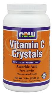 NOW Foods Vitamin C Crystals by NOW Foods, 3 Pounds