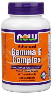 NOW Foods Advanced Gamma E Complex Softgels, 120 Softgels