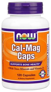 NOW Foods Cal-Mag Caps, 120 Capsules