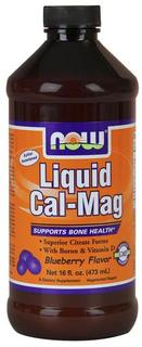 NOW Foods Liquid Cal-Mag, 16 Ounces