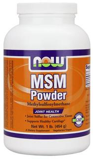 NOW Foods MSM Powder, 1 Pound